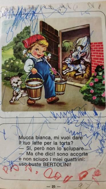 poetica delle regole - ricettario Bertolini - Maria Rosa